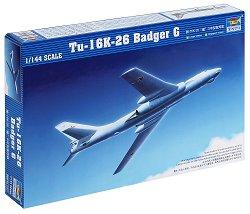 Бомбардировач - Tu-16K-26 Badger G - Сглобяем авиомодел -