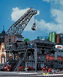 Кран за товарене на въглища - Сглобяем модел -