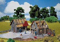 Къща в строеж - Сглобяем модел - релса