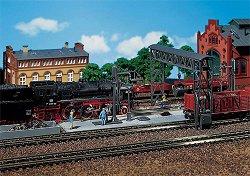 Платформа за парни локомотиви - макет
