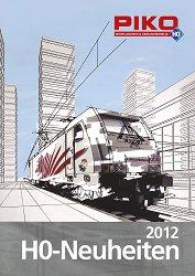 HO Брошура с нови продукти - Piko 2012 - За нови модели с мащаб HO - продукт