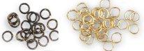 Метални пръстени - Ø 2 mm - макет