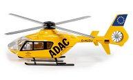 """Спасителен хеликоптер - ADAC - Метална играчка от серията """"Super: Emergency rescue"""" -"""