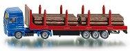 Камион за превоз на дървени трупи - MAN - играчка