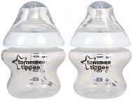 Бебешки шишета за хранене - Closer to Nature: Easi Vent 150 ml - Комплект от 2 броя със силиконов биберон за новородени -