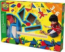 Забавна мозайка с чукче и пирони - аксесоар
