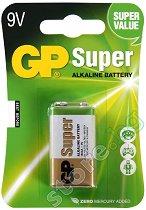 Батерия 9V - Супер алкална (1604А) - 1 брой -