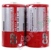Батерия D - Въглерод-Цинкова (13E) - 2 броя - батерия