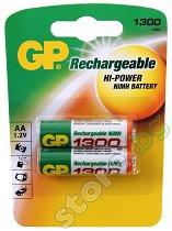 Батерия AA - Акумулаторна NiMH (HR6) - 2 броя - батерия