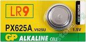 Бутонна батерия LR9 / PX625A / V625U - Алкална 1.5 V - 1 брой -