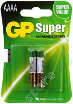 Батерия AAAA - Супер алкална (LR8D425) - 2 броя -