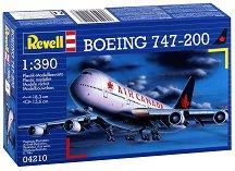 Пътнически самолет - Boeing 747-200 - Сглобяем авиомодел - макет