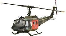 Военен хеликоптер - Bell UH-1D SAR - Сглобяем авиомодел -