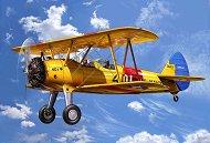 Учебен самолет - Stearman Kaydet - Сглобяем авиомодел -
