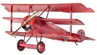 Военен самолет - Fokker Dr.I Triplane - Сглобяем авиомодел - макет