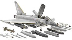 Военен самолет - Eurofighter Typhoon Twin-seater - Сглобяем авиомодел -