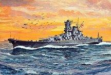 Военен кораб - Yamato - Сглобяем модел - макет