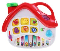 Йоника - Къщичка - Образователна музикална играчка - образователен комплект