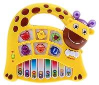 Йоника - Жираф - Образователна музикална играчка - творчески комплект