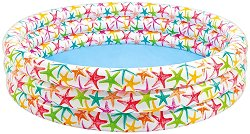 Детски надуваем басейн - Морски звезди - количка