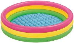 Надуваем детски басейн - играчка