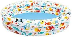 Надуваем детски басейн - Рибки - играчка