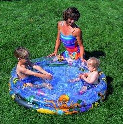 Детски басейн - Океан - Надуваема играчка - топка