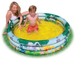 Детски басейн - Мечо Пух - Надуваема играчка - играчка