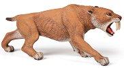 """Саблезъб тигър - Фигура от серията """"Динозаври и праистория"""" - фигура"""