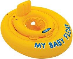 Надуваем бебешки пояс със седалка - Аксесоар за плуване - творчески комплект