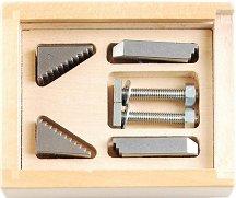Комплект мини стоманени фиксатори -