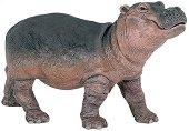 Хипопотам - Бебе - Фигура от серията Диви животни - творчески комплект