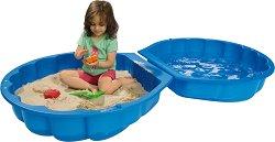Детски пясъчник с капак - Мида - играчка