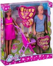 """Щастливо семейство - Кукли от серията """"Steffi Love"""" - играчка"""