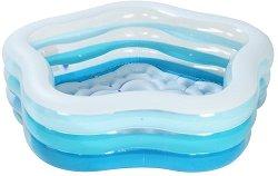 Надуваем басейн -
