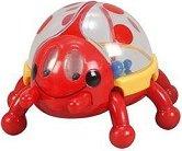 Дрънкалка - Калинка - Играчка за бебе - играчка