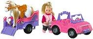 """Еви Лав с джип и конче - Кукла с аксесоари от серията """"Steffi Love"""" - кукла"""
