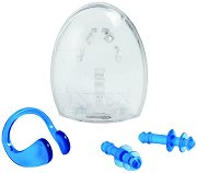 Тапи за уши и щипка за нос - Комплект аксесоари за плуване -