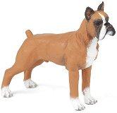 Куче - Боксер - Фигура от серията Животните във фермата - фигури