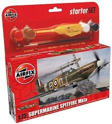 Военен самолет - Supermarine Spitfire Mk.Ia - макет