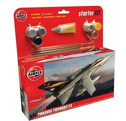 Изтребител - Panavia Tornado F3 - Сглобяем модел - голям стартов пакет -
