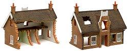 Руини на сграда - European Country Cottage - Модел за оцветяване -