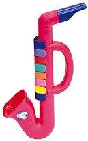 Мини саксофон с 8 клавиша - Детски музикален инструмент - играчка