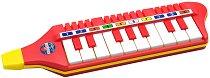 Пиано-хармоника с 10 клавиша - Детски музикален инструмент - играчка