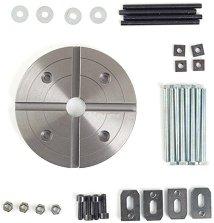 Комплект от планшайба и челюсти за мини струг PD 400 -