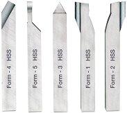 Комплект от мини стругарски ножове 10 x 10 mm - Инструменти за моделизъм -
