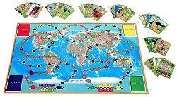Животните по света - Образователна семейна игра -
