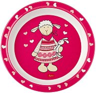 Детска меламинова чиния - Шнуги - играчка