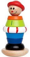 Джак - Дървена играчка за нареждане - играчка
