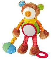 Мече - Плюшена играчка за бебе - играчка